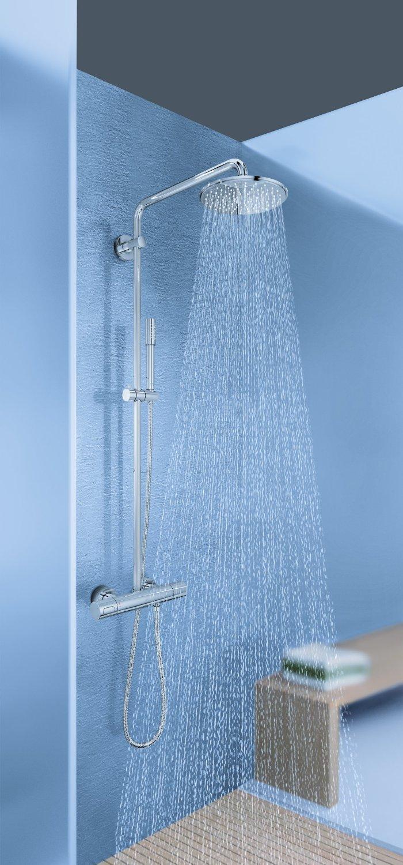 grohe rainshower system 210 colonne de douche carsana. Black Bedroom Furniture Sets. Home Design Ideas